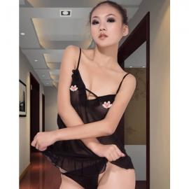 耶妮娅-爱不释手透纱小短裙(X312...