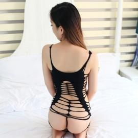 耶妮娅-丝袜诱惑野性网花W9059