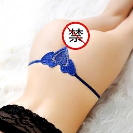 沐涩-柔软蕾丝无痕T裤 71121